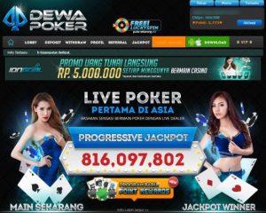 DewaPoker - Bandar Poker Online Uang Asli