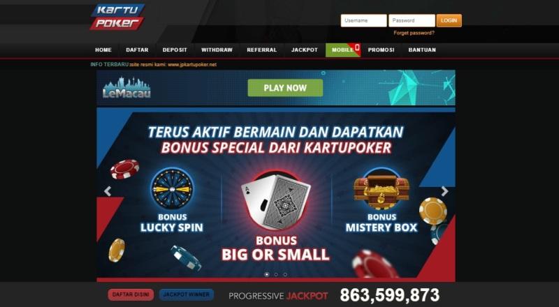 KartuPoker - Situs Judi Poker Profesional