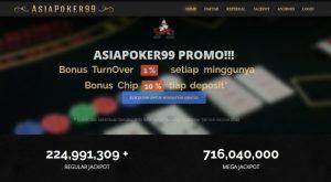 Daftar AsiaPoker99 - Bandar Judi Poker Indonesia