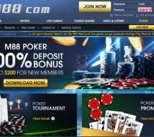 Daftar M88 Poker - Situs Judi Online Terkemuka